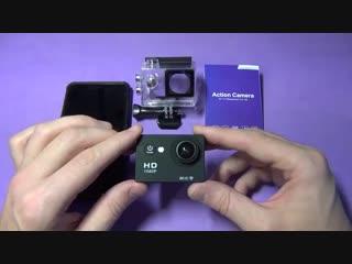 Нереально крутая Экшн камера