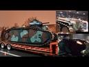 Char B1bis with huge BACKFIRES Retromobile 2018