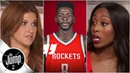 Reacting to James Ennis saying Rockets 'definitely' will beat Warriors if healthy | The Jump | ESPN