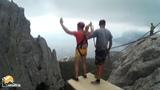 Макс Ilias-kay Rope jumping with Skyline x-team in Crimea