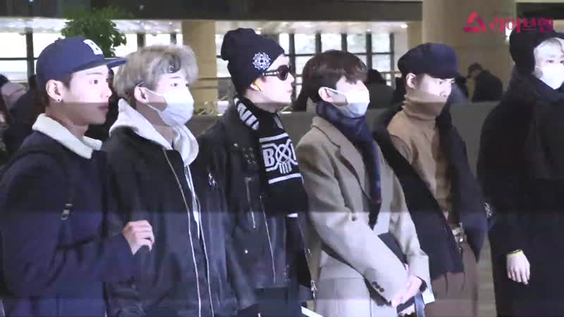 [VK][181211] MONSTA X at Gimpo Airport @ liveen TV
