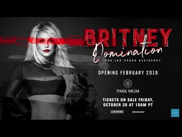 Britney Spears Domination-The Las Vegas Residency-Announcement