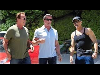 Arnold schwarzenegger, sylvester stallone and jean-claude van damme training motivation 2019