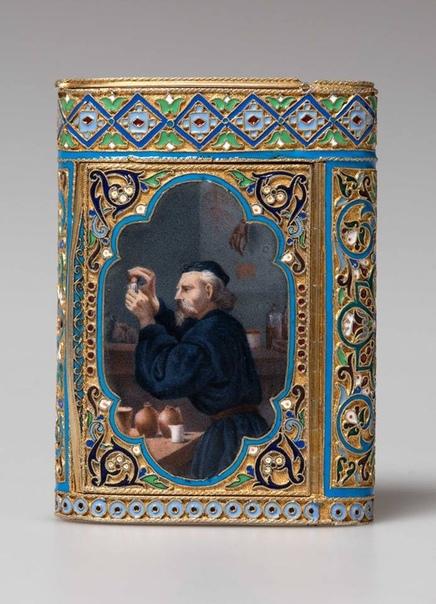 Портсигары и табакерки фирмы Овчинникова Павел Акимович Овчинников был крепостным князя Волконского, рано проявившим способности к рисованию. Подростком был отправлен в Москву в мастерскую