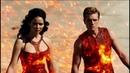 Смотреть «Голодные игры 2 И вспыхнет пламя» 2013 / Второй трейлер продолжения «Голодных игр»