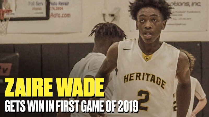 Zaire Wade Throws Down WITH EASE In Game - Full Highlights