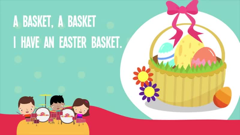 Easter Basket Song Kids Song Easter Song Lyrics Nursery Rhyme