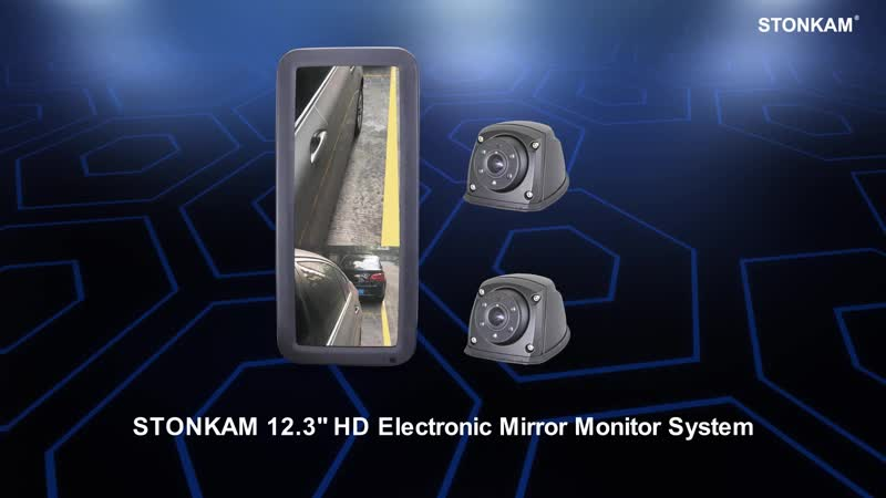 STONKAM® 12.3 HD electronic mirror monitor system