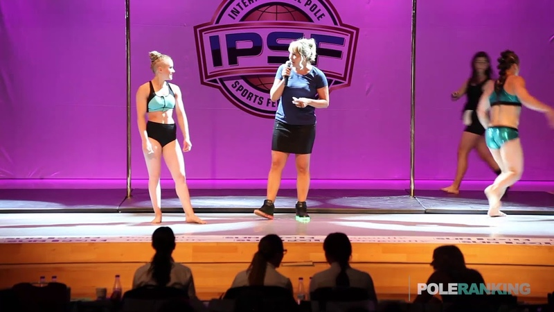 Ultra Pole Women Irina Makushina vs Dineke Minten - IPSF World Pole Sports Championships 2018