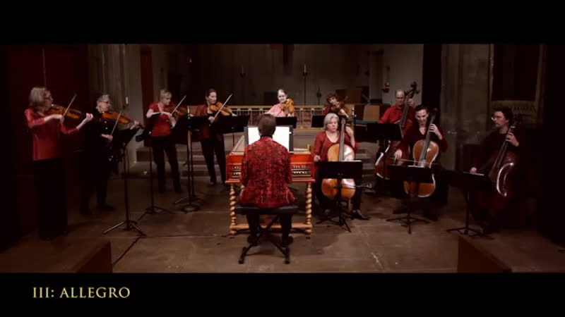 Bach Brandenburg Concerto No. 3 in G Major, BWV 1048 Complete 4K UHD Voices of Music - You