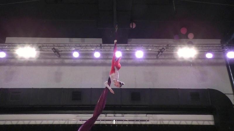 Арина Калгина Catwalk Dance Fest pole dance aerial 30 04 18
