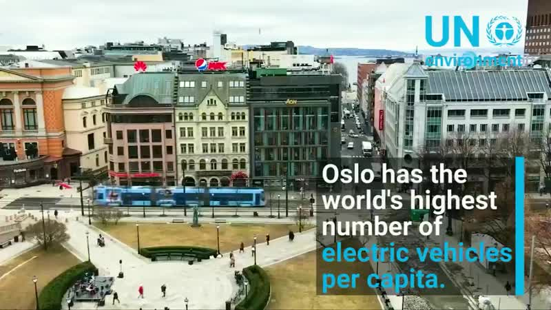 Oslo, Norway becoming the e-vehicle capital of the world