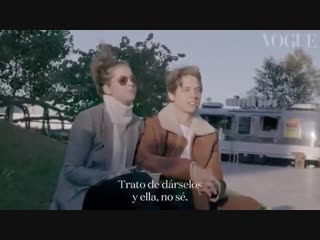 Barbara palvin  dylan sprouse special for vogue spain