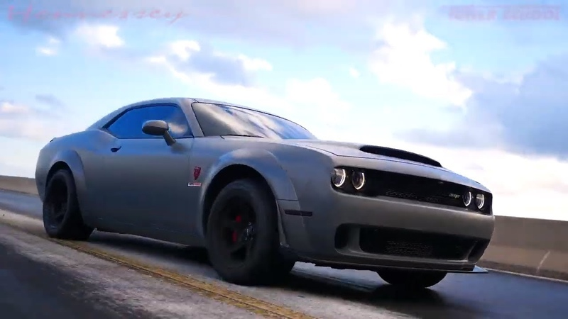 2018 Dodge Challenger Demon with Hennessey HPE1000 upgrade.