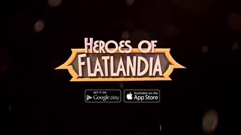Heroes Of Flatlandia (Premium) - Геймплей   Трейлер