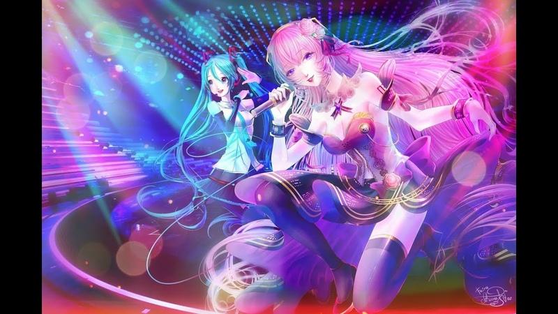Art Luka and Miku V4X【Speed Paint】 54