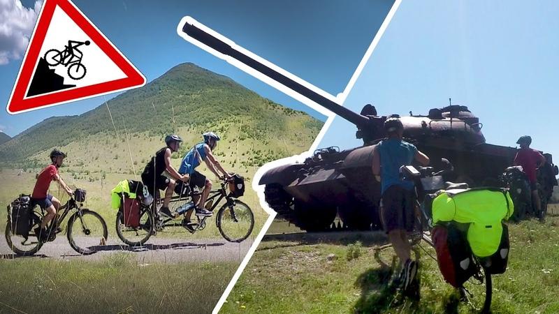 13 Tage bis Kroatien 1700km mit dem Rad in den Süden Travel for free