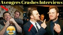 Avengers Infinity War Cast Crashes Interview Unseen Funny Moments 2017