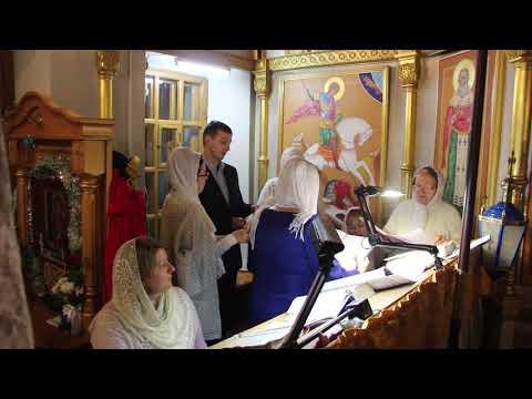 Русские Рождественские колядки. Хор Свято-Покровского храма