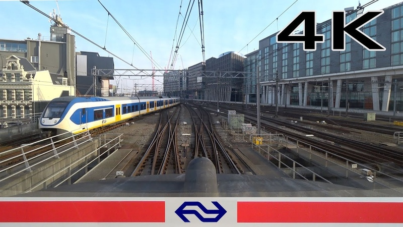 4K CABVIEW HOLLAND Amsterdam - Almere ICM 16feb 2019