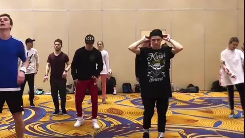 Choreo by Francis Tyrell AOV Project818