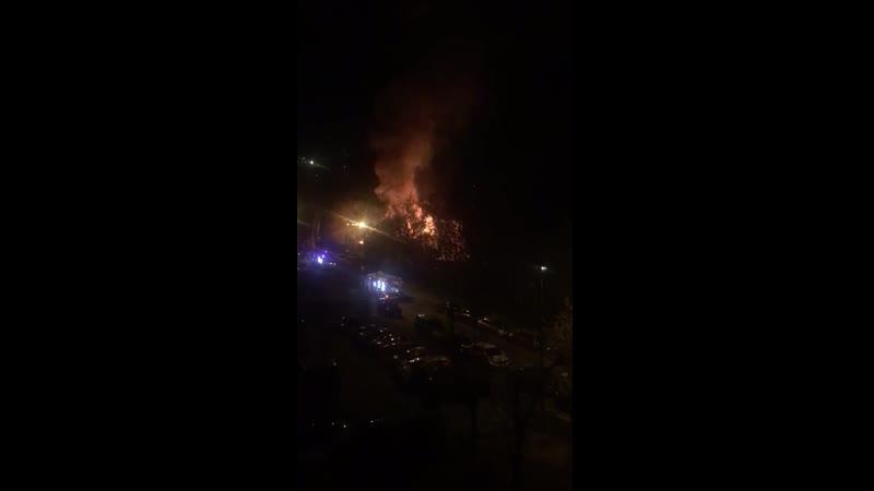 Пожар в Осташковском проезде