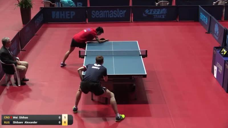 Wei Shihao vs Alexander Shibaev | Croatia Open (R32)