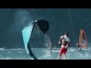 3 The reverse side of the kite sport Kite crash!!