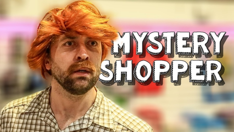 Mystery shopper Bored Ep 80 Being forced to be a good employee is horrible VLDL