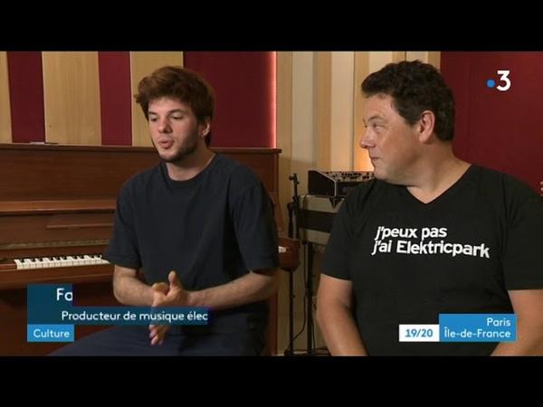 Elektric Park de Chatou : rencontre avec Fakear et Joachim Garraud