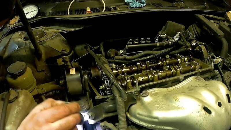 Toyota Camry (Тойота Кемри) 2.4 регулировка клапанов
