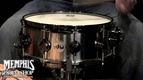 DW 14 x 5.5 Collector's Series Black Ti Titanium Snare Drum with MAG Throw-off