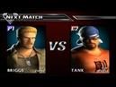 Def Jam Vendetta 1 Briggs vs Tank Novice League