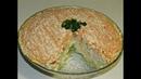 Бархатный салат с крабовыми палочками