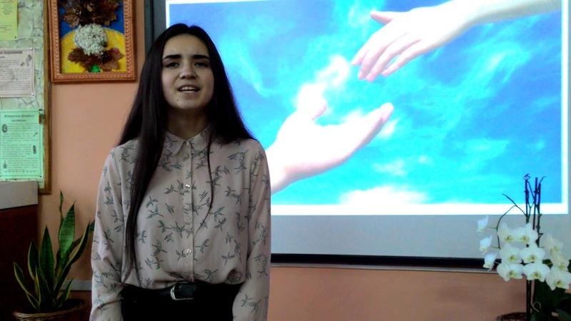 Оксана Павленко читает отрывок из произведения Ю.Бондарева Земля и Звезда.