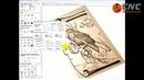 Уроки ArtCam Видео инструкции полный цикл фрезеровки ЧПУ От монитора до изделия