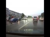 Танцы под дождём на Кутузовском проспекте