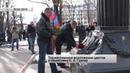 В Донецке состоялось торжественное возложение цветов к памятнику К.А. Гурову. Актуально. 22.02.19