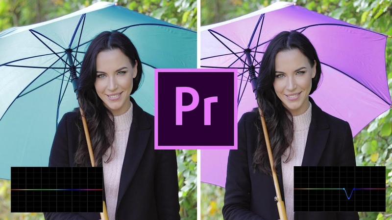 New in Premiere Pro!! SELECTIVE COLOR GRADING curves (lumetri tools)
