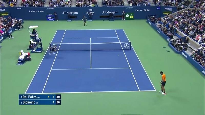 Обзор мужского финала US Open Новак Джокович - Хуан Мартин Дель Потро