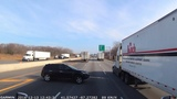 Accident on I-94 in Indiana 2018-12-13