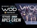 Ape's Crew   1st Place Junior Division   World of Dance Antwerp Qualifier 2018   Winners Circle