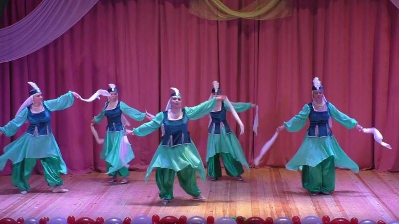 Мувашахат. Группа Сапфир студии восточного танца Гюльчатай. Москва