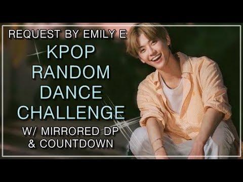 KPOP RANDOM DANCE CHALLENGE | w mirrored DP countdown | Request by Emily E