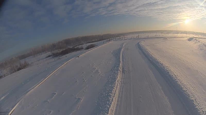 Зимний трек Кузбасский автодром СТЦ