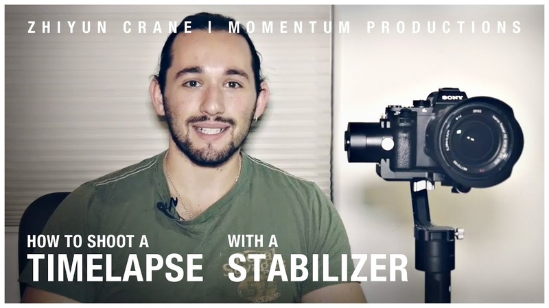 How To Shoot a Timelapse With a Stabilizer - Zhiyun Crane | Momentum Productions