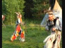 POW WOW  Grass Dance Танец Травы  Я и Слава