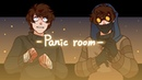 Panic room MEME Ticci Toby Creepypasta blood warning