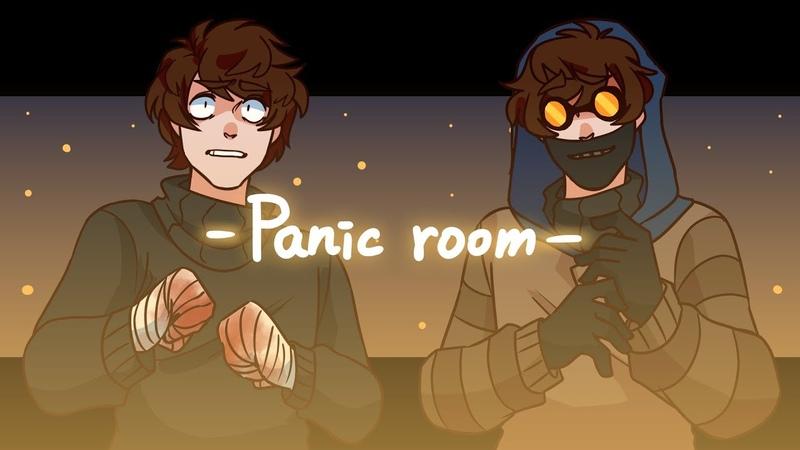 Panic room MEME Ticci Toby Creepypasta blood warning
