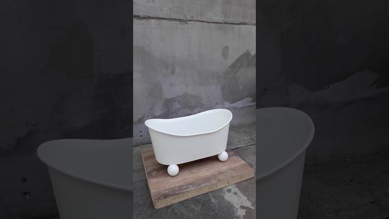 Ванночка для детских фотосессий. Декор для фотозон.
